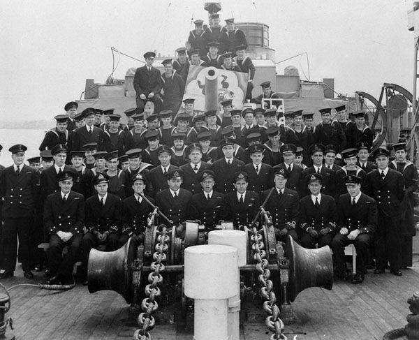 HMCS BUCTOUCHE Crew