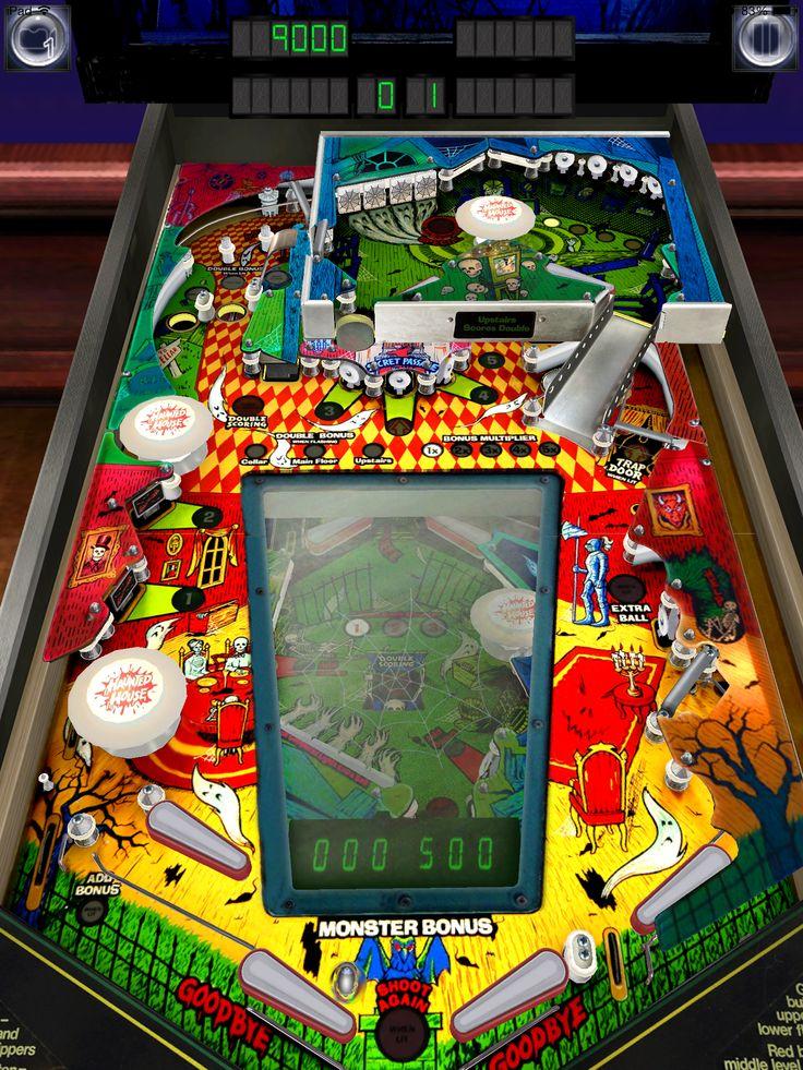 "Pinball Arcades's virtual ""Haunted House"" by Williams"