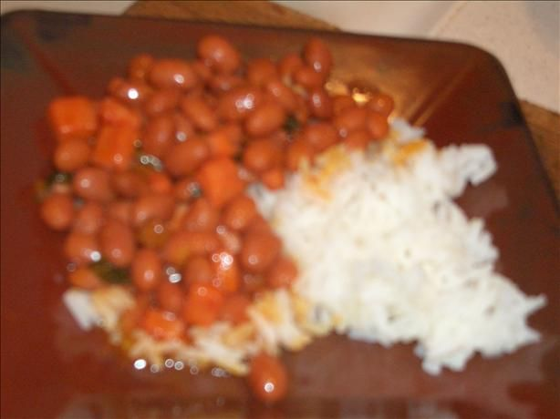 It's funny, when I was a kid I used to complain because I swear we ate rice and beans at least 5 days a week. Rice and beans is just one of those side dishes that is easy to make and can literally be served with any type of meat prepared in any way.