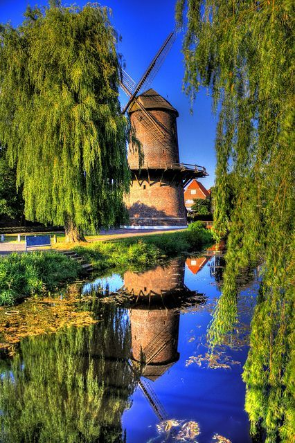 Windmill in Isselburg, Germany - built in 1498