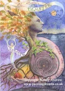 Autumn Equinox: The Autumn Equinox is one of the Lesser Sabbats, and is usually celebrated around September 22. It falls between Lugnasad and Samain, and marks Mid-Autumn, when Day and Night are of equal lengths.