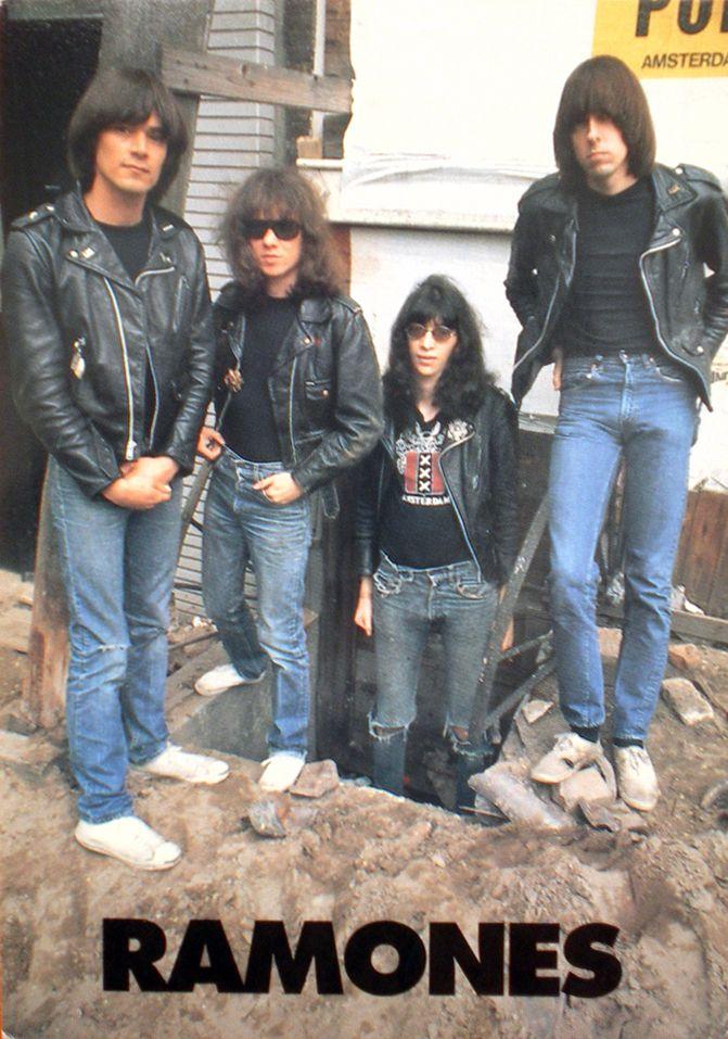 Ramones, Amsterdam, july 1977