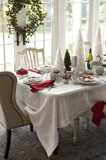 Karin Lidbeck: 5 Day Countdown: Winter Wonderland Inspired Table