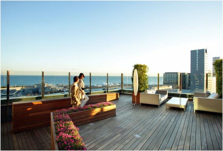 Hotel Barcelona Zero terrace