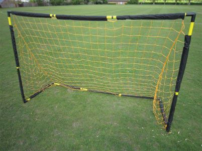 Foldaway Training Goal - http://sportnetting.co.uk/collections/football-training-equipment/products/foldaway-goal-with-carry-bag-9ft-x-6ft