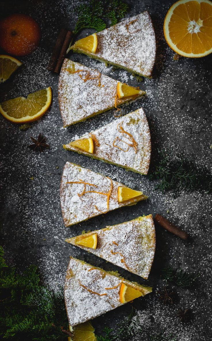 saffron cake with poppy seeds and white chocolate: