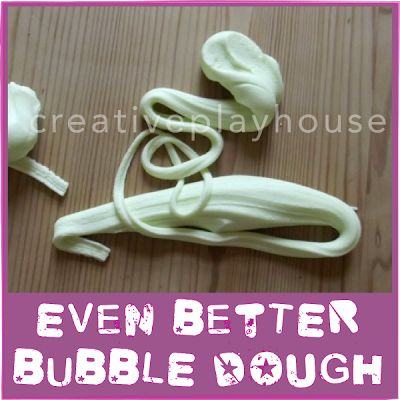 Creative Playhouse: Even Better Bubble Dough