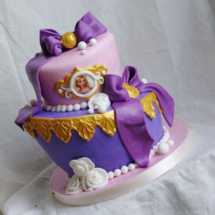 disney princess birthday cake ideas on tangled rapunzel birthday cake party decorating ideas