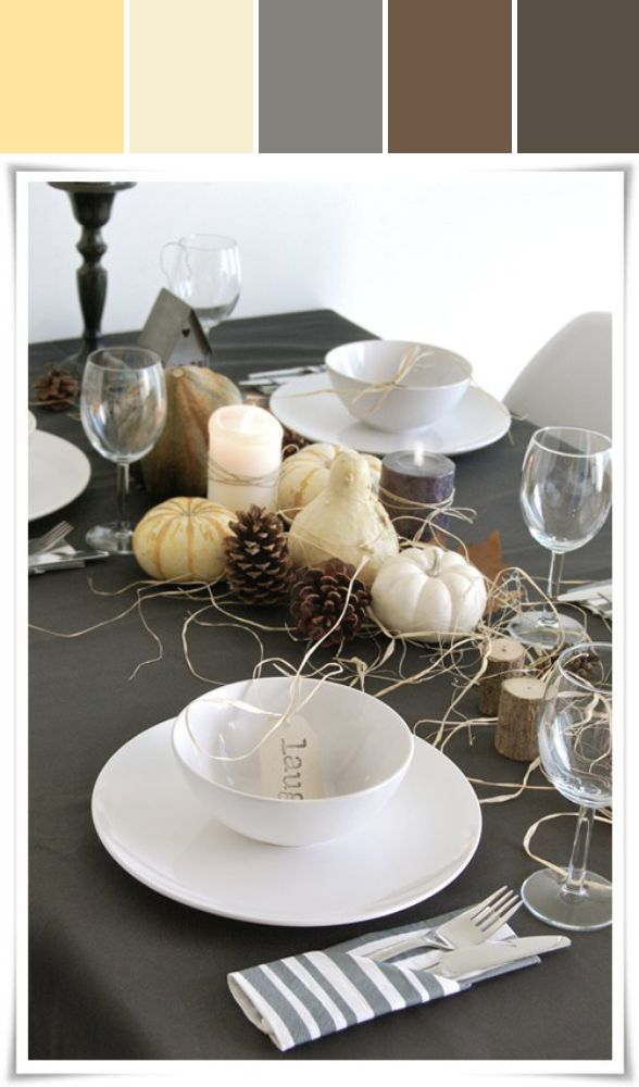 Contemporary Thanksgiving Designed By Lisa Perrone | Stylyze Creative Director via Stylyze