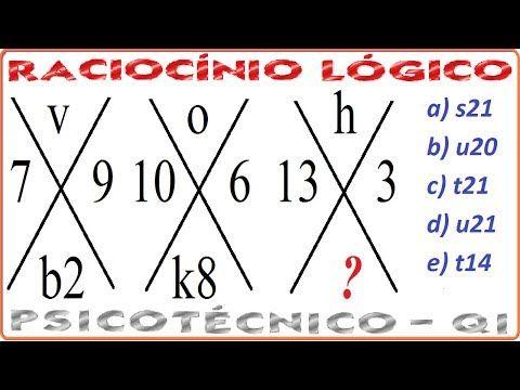 desafios de raciocínio, prova de lógica, jogo de  desafios de matemática, jogos com desafios lógicos, exercícios de matemática, lei de formação da sequência, padrão sequencial, série de números, regra de constituição, critério lógico,  Assista à vídeoaula, com a resposta em resolução comentada, passo a passo, desta questão resolvida no link (endereço): https://youtu.be/QXpXETNmjpg YouTube