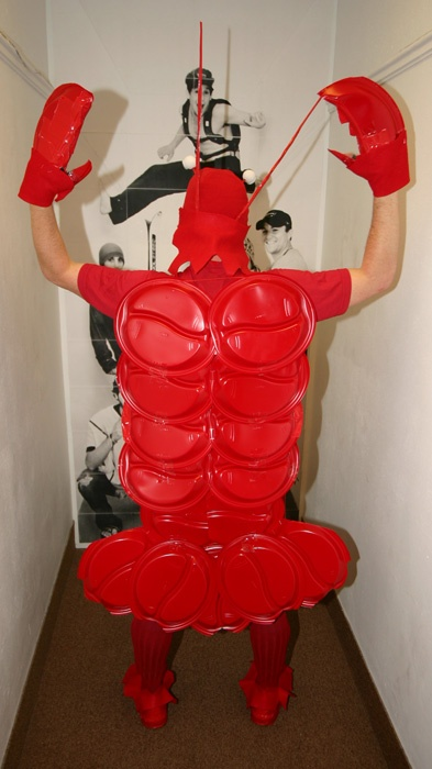 Lobster costume - Solo cups- oh my gosh I am making this!!