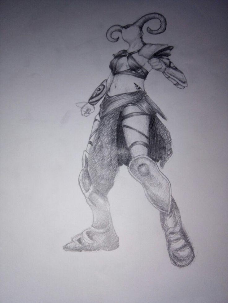 Karakalem karakter tasarımı
