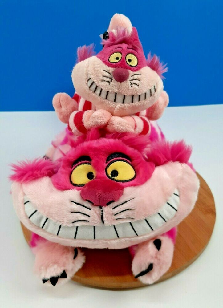 Peluche Chat Alice Au Pays Des Merveilles 2 Disney Cheshire Cat Plushes Alice In Wonderland Stuffed Animal 6 11 Disney