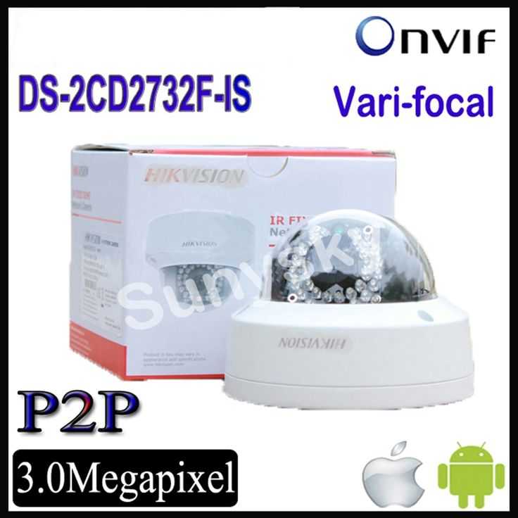 164.50$  Watch now  - Hikvision POE IP Camera  DS-2CD2732F-IS ds-2cd2732f-i(s) 3MP varifocal zoom IP dome camera cctv outdoor cam camera 2cd2732f-is