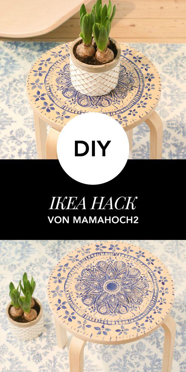 IKEA Hack: Frosta Hocker wird zum Eyecatcher