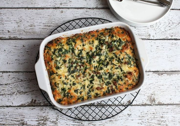 Spring Ramps Add a Layer of  Flavor to This Hearty Breakfast Bake