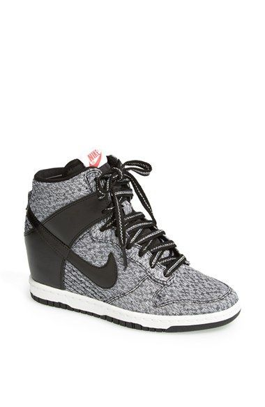 I gotta get these!!! <3 Nike 'Dunk Sky Hi' Wedge Sneaker (Women) available at #Nordstrom