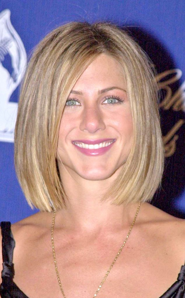 2001 from Jennifer Aniston's Hair Through the Years | hair ...
