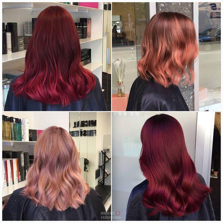 Vilken är din favorit av dessa färgstarka hår? 💗❤ #colorfulhair #crazycolor #lorealpronordic
