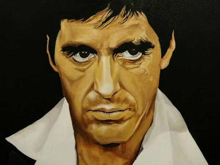Scarface Al Pacino - Artist: Daking Y