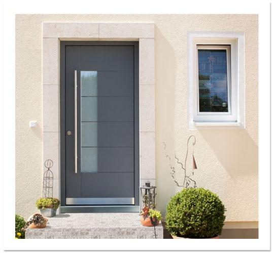 RAL 7015 door