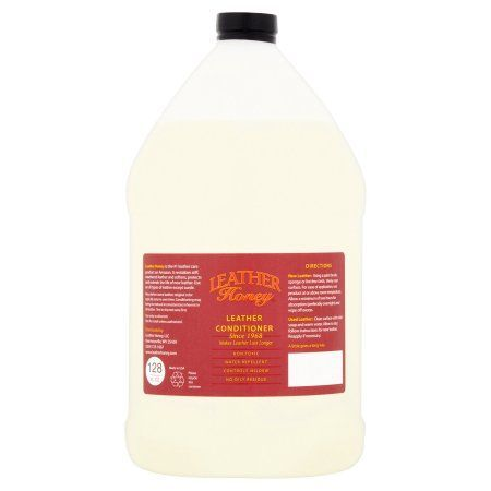 Leather Honey Leather Conditioner, 128 fl oz