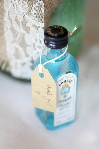 Alcoholic Wedding Favors