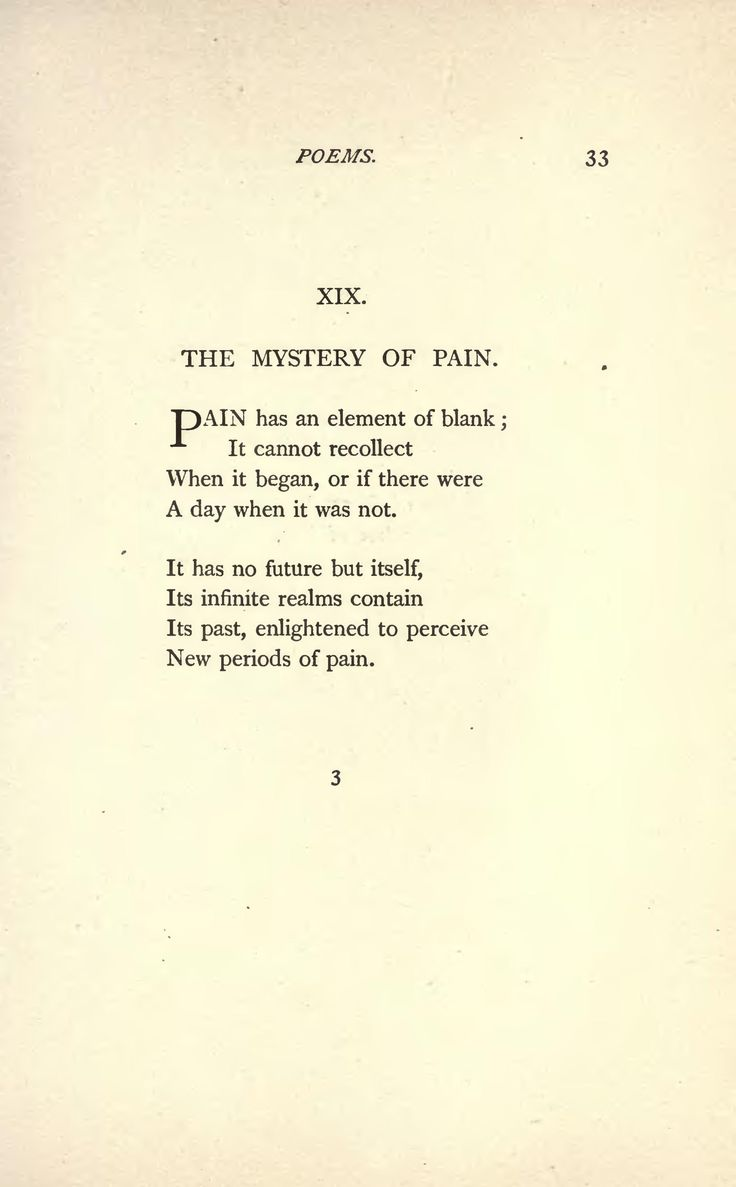 Famous Poems by Emily Dickinson | the mystery of pain by emily dickinson