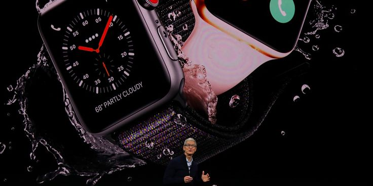 Apple just unveiled its latest smartwatch the Apple Watch Series 3 http://ift.tt/2wXyc5z