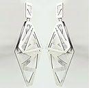 Ana Bragança Jewellery Design. Amasing Bipolar Mood Earrings // Sterling Silver