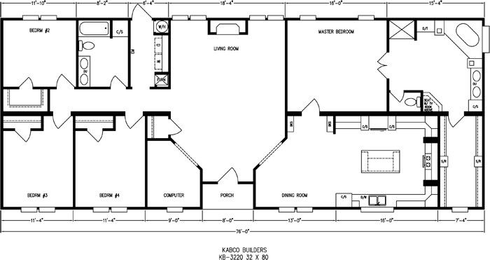 Double Wide Mobile Home Floor Plans Ideas ~ http://lovelybuilding.com/double-wide-mobile-home-floor-plans-with-affordable/
