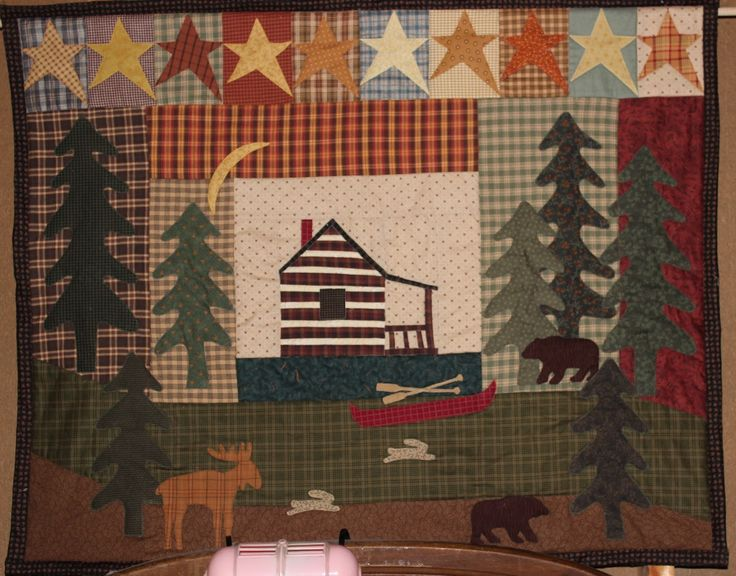 Cabin In The Woods By Jill Kemp Of Bears Paw Designs