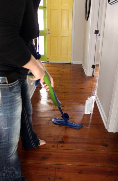 how to refinish wood floors without sanding pretty handy girl