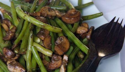 Sperziebonen Met Balsamico-knoflook Champignons recept | Smulweb.nl