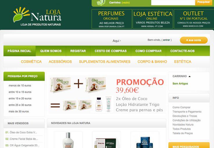 Produtos Naturais - loja-natura.pt - produtos naturais - loja-natura.pt - Tudo sobre optimização de lojas virtuais – SEO. lojas e-commerce, oscommerce, pretashop, opencart e Magento.