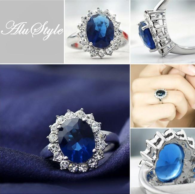 Royal Princess Kate U0026 Diana Engagement Ring Zircon*Perfect Valentineu0027s Day  Gift* $12.99