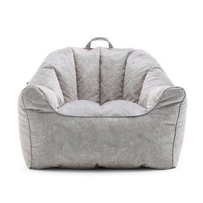 Big Joe Hug Bean Bag Chair Upholstery Caribou