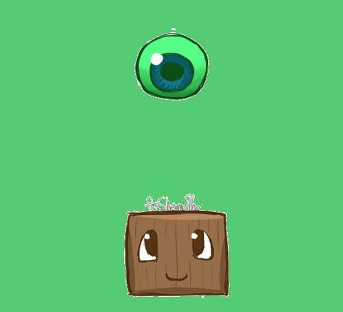 Foshametho: Boing boing boing ~ <3 Septiceye Sam and Tiny Box Tim GIF