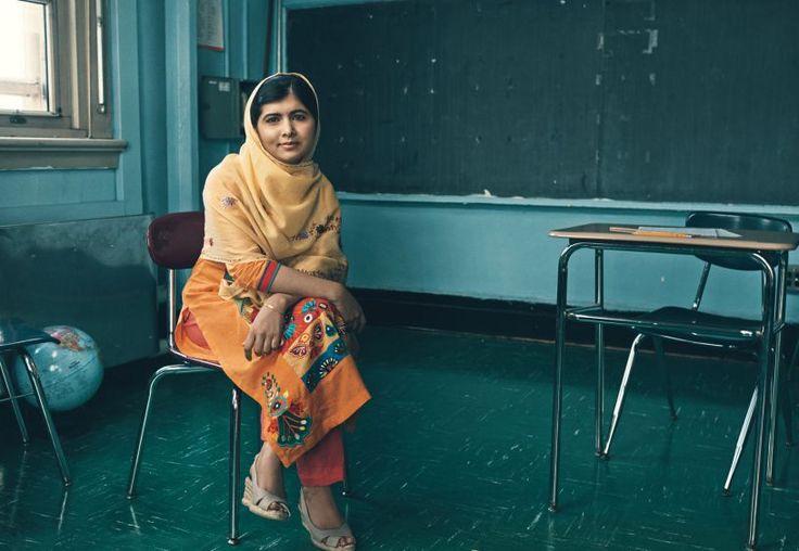 ...Malala Yousafzai: a mais jovem vencedora do Prêmio Nobel da Paz.
