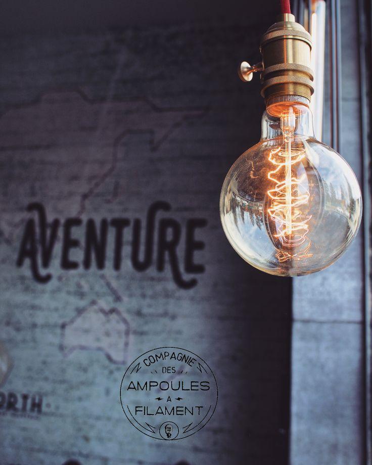 Globe Ampoule à Filament Edison Style Vintage Industriel #Edison #Ampoule # Filament #vintage