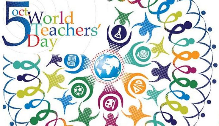 October 5th is World Teachers' Day! It commemorates the work of teachers and their contributions to society. #iamthatgirl
