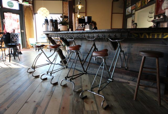 The reCyclery Bike Cafe - Eat - Capitol Hill - Thrillist Denver : coffee, beer, lunch, fixies