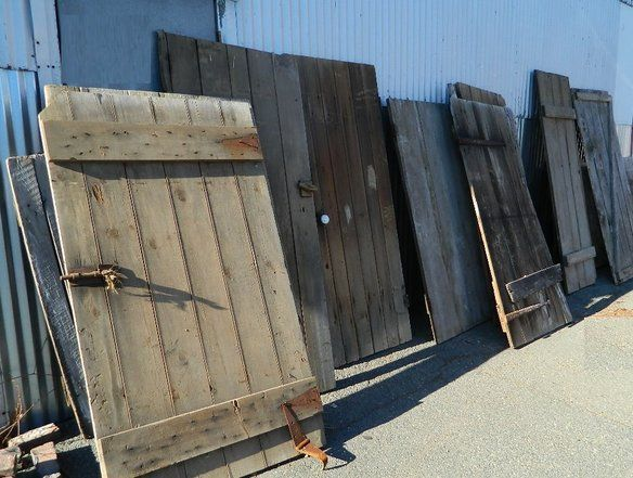 Reclaimed, Antique Barn Doors, Recycled, Vintage, in Irvington, New Jersey ~ Apartment Therapy Classifieds
