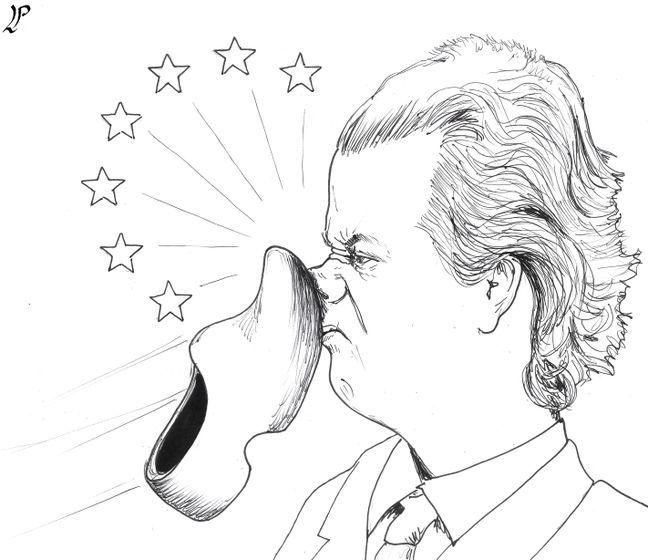 Dutch election result. Cartoon by Paolo Lombardi: https://www.cartoonmovement.com/cartoon/38181