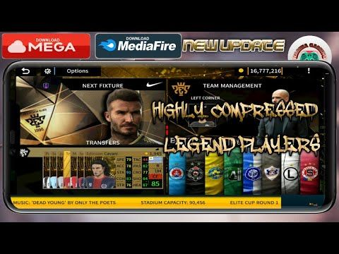 DOWNLOAD DLS 19 MOD PES LEGEND Edition Android Offline