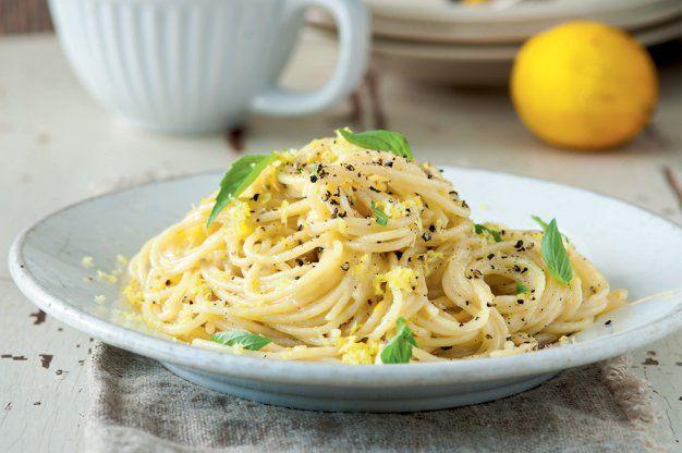 Těstoviny sýr & pepř | Apetitonline.cz