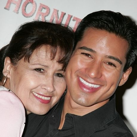 Photo of Mario Lopez & his  Mother  Elvia Lopez