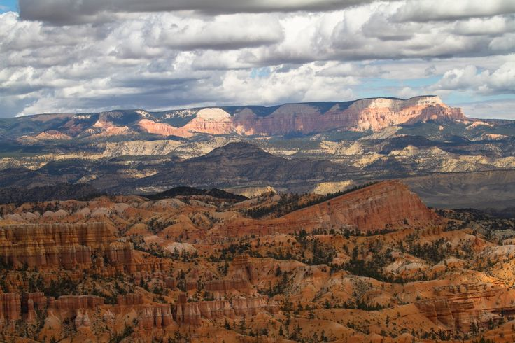 Bryce Canyon #bryce #canyon #clouds http://hikersbay.com/go/usa