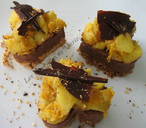 Coeur croustillant chocolat-fruits d'automne 01