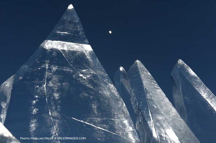 Ice Skyline, art installation by Marco Nones - photo Pierluigi Orler - Dolomiti Unesco RespirArt Pampeago - Art Installation